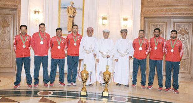 الفريق الوطني للقفز الحر يختتم مشاركته