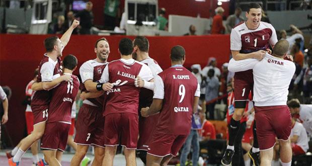 قطر تتابع مغامرتها الرائعة وتلاقي فرنسا في النهائي