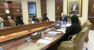 سناء بنت حمد تناقش الاستعدادات لدورة المرأة الرابعة
