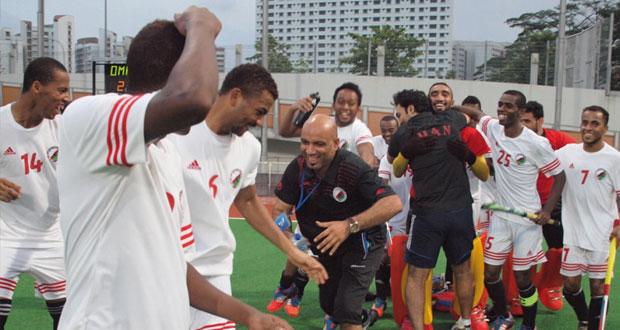 في بطولة دوري العالم الهوكي بسنغافورة تأهل منتخبنا الوطني وبولندا وماليزيا واليابان الى النصف النهائي