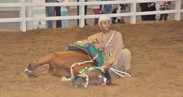 افتتاح المعرض الدولي الرابع للخيل والإبل والتراث (أصايل عمانية) 13 يناير