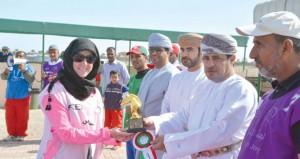 نجاح وإثارة تشهدهما مسابقة القدرة والتحمل المحلية الأولى للفتيات ببركاء