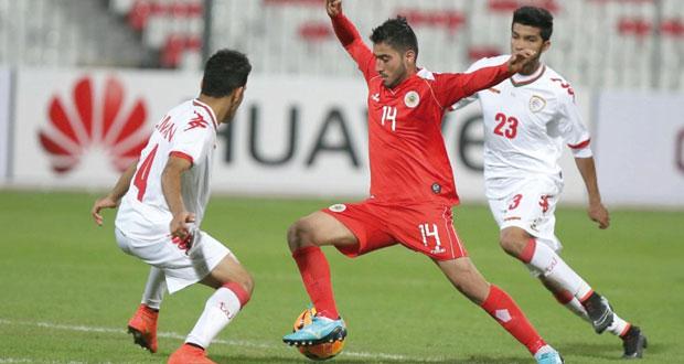 منتخبنا الأولمبي يتعادل مع البحرين ويتأهل إلى منافسات الدور الثاني
