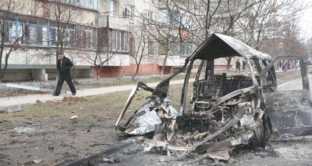 أوكرانيا: أنصار الفيدرالية يهاجمون ماريوبول وأوروبا تحذر من تدهور العلاقات مع روسيا