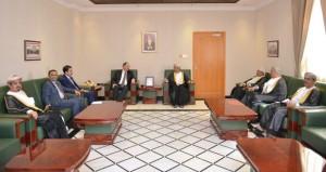 بحث التعاون بين السلطنة والأردن في مجالات العدل والقضاء والادعاء