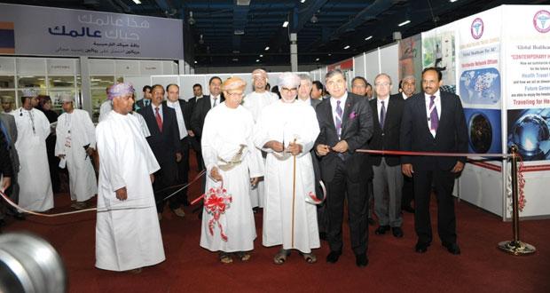 افتتاح المعرض والمؤتمر الدولي الطبي الثالث 2015