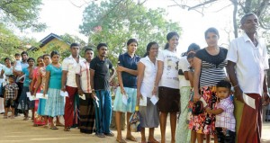 سريلانكا : أكثر من 60 % نسبة الإقبال على المشاركة في الانتخابات الرئاسية