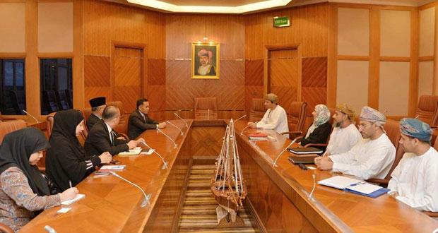 بحث التعاون الثنائي بين السلطنة وبروناي دار السلام في مجالي النفط والغاز