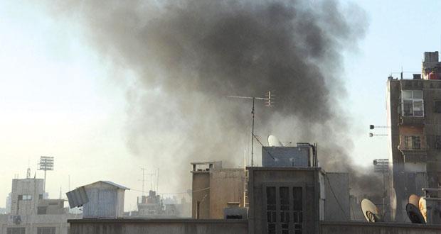سوريا: صواريخ الإرهاب تضرب دمشق وتسقط 3 قتلى