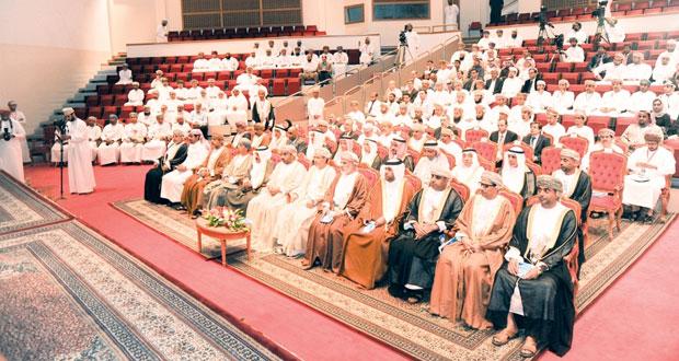 افتتاح المؤتمر الثامن لمهندسي الكهرباء والإلكترونيات لدول مجلس التعاون بجامعة السلطان قابوس