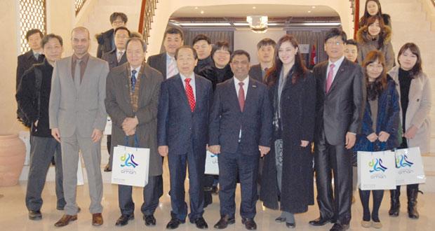ملتقى السفر والسياحة يروج للمقومات السياحية التي تزخر بها السلطنة في كوريا الجنوبية