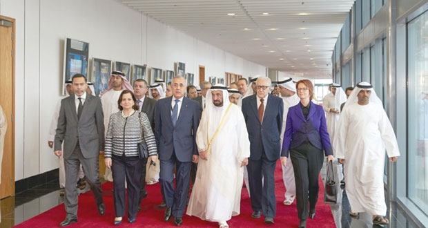 افتتاح أعمال الدورة الرابعة للمنتدى الدولي الرابع للاتصال الحكومي بالشارقة