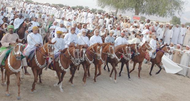 انطلاق مهرجان رياضات الخيل التقليدية بجعلان بني بوعلي .. بعد غد