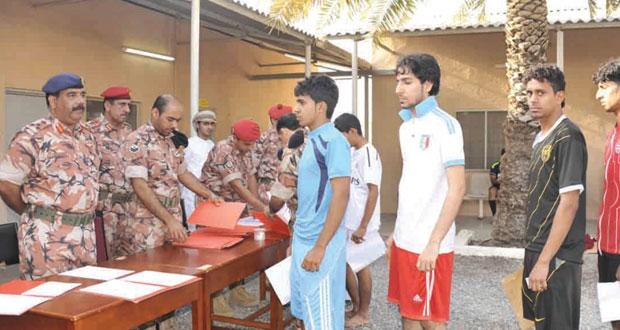 الجيش السلطاني العماني يواصل جهوده لاستيعاب الشباب العماني في العديد من التخصصات والمجالات العسكرية