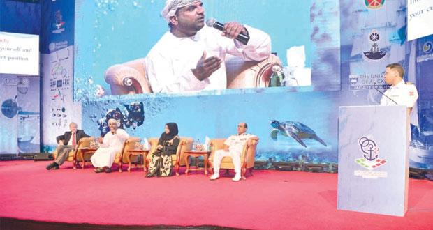 ختام أعمال المؤتمر الدولي الثاني للطب البحري ـ مسقط 2015م