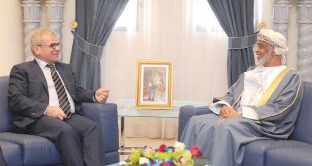 الراسبي والنبهاني يستقبلان نائب وزير الدفاع التركي