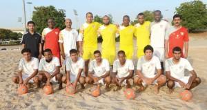 منتخب كرة القدم الشاطئية يستعد للآسيوية والخليجية