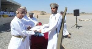 عبد المنعم الحسنى يرعى اختتام منافسات المسابقة السنوية للرماية التقليدية بولاية الخابورة