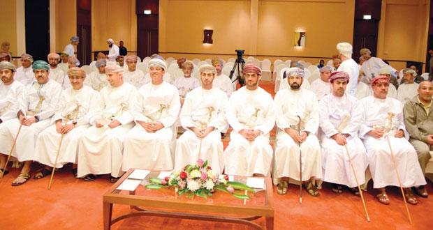 الاحتفال بتوقيع الاتفاقيات الاستثمارية لأندية صحار ومجيس والسلام الرياضي