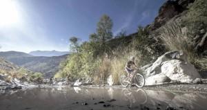 في سباق اختراق جبال الحجر للدراجات الهوائية 2015م