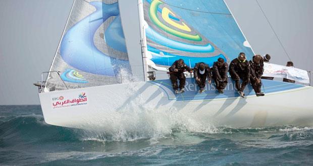 فريق النهضة يشارك في الطواف العربي للإبحار الشراعي بقيادة فهد الحسني