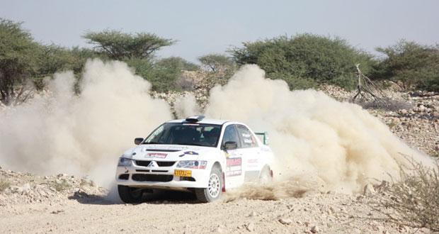 برعاية (الوطن) وعمان تريبيون اليوم ..انطلاق أولى جولات رالي عمان للسيارات
