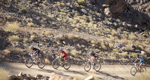 إسدال الستار عن النسخة الخامسة لسباقات اختراق جبال الحجر للدراجات الهوائية الجبلية