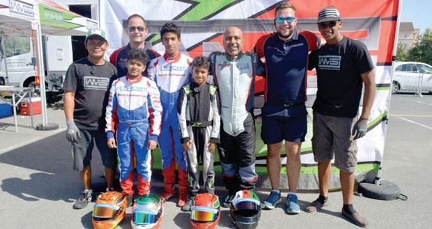 فريق الوهيبي للسيارات يحتكر المراكز الأولى في بطولة دبي المفتوحة للكارتينج