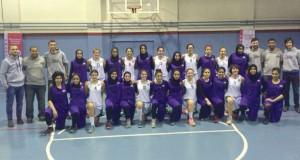 فتيات السلة يواجهن أقوى الفرق التركية بمعسكرهن الخارجي ويفزن بالاحتكاك وكسب الخبرة