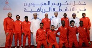 في أمسية رياضية رائعة وزارة الشؤون الرياضية تحتفل بالمجيدين في الأنشطة الرياضية 2014