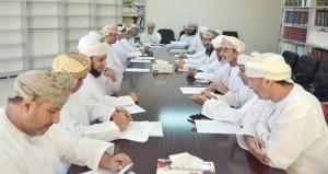 اللجنة الثقافية والعلمية بنادي نـزوى تستعرض تنفيذ أنشطة ثقافية متنوعة