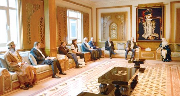 السيابية تستقبل وزير الشؤون الاجتماعية الفلسطيني