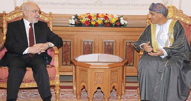 فهد بن محمود يستقبل وزير الخارجية العراقي ووزير التخطيط والمتابعة المصري
