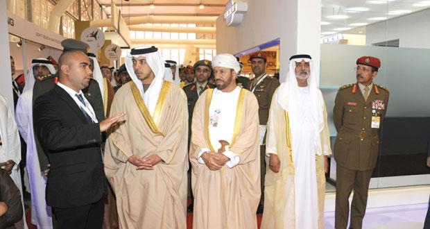 بدر بن سعود يشارك في حفل افتتاح المعرض والمؤتمر الدولي (أيديكس 2015م) بأبوظبي