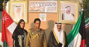 السفارة الكويتية تحتفل بذكرى العيد الوطني الـ (54) والذكرى الـ (24) لعيد تحرير بلادها