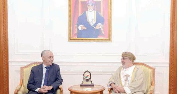 المنذري يستقبل رئيس مجلس النواب المغربي ورئيس مندوبية الاتحاد الأوروبي