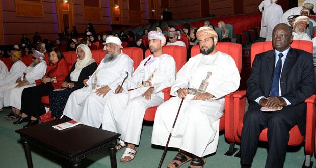 انطلاق الملتقى العربي لذوي الاعاقة البصرية بمسقط تحت شعار (بصائر تتألق في مسقط )