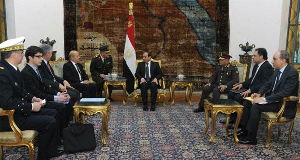 مصر: السيسي يطالب بتفويض أممي للتدخل العسكري بليبيا