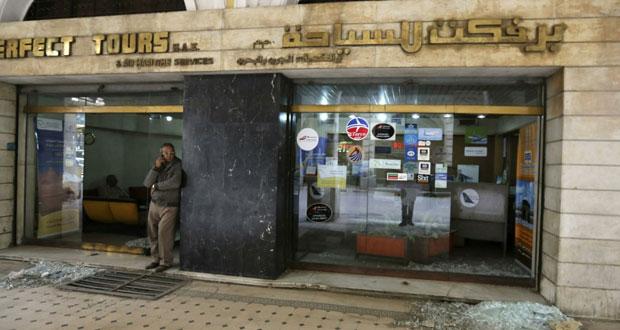 مصر: قنابل الإرهاب تصل (المطار) وتتسبب بمقتل مدني بالاسكندرية