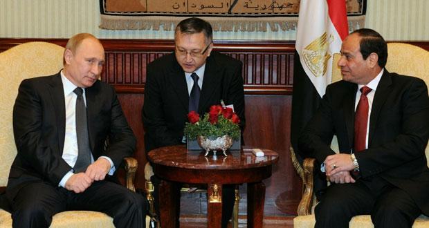 مصر: قمة السيسي وبوتين تسفر عن عدد من اتفاقيات التعاون والحكومة ترى تصريحات خادم الحرمين أفشلت (الوقيعة)