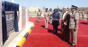 الاحتفال بافتتاح مركز شرطة أدم