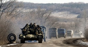 الجيش الأوكراني ينسحب من (ديبالتسيف) ومطالبات غربية بوقف الدعم الروسي للإنفصاليين
