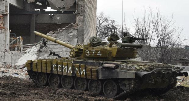 أزمة أوكرانيا : اتفاق مبدئي على وقف القتال .. وقصف على ديبالتسيفي