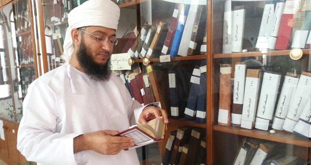 """""""مكتبة السيد محمد بن أحمد البوسعيدي"""" مرجع فكري يتعمق في التاريخ والتراث العماني العريق"""