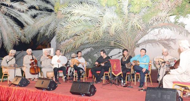 أمسية فنية عمانية إيرانية تقدم مقطوعات من التراث الموسيقي العريق