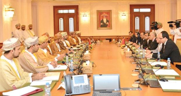 جلسة مباحثات برلمانية بين السلطنة والمغرب