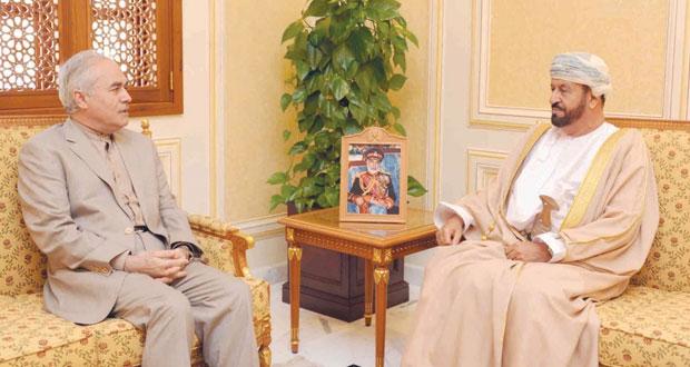 بدر بن سعود يستقبل السفير الإيراني
