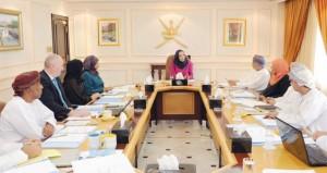 مديحة الشيبانية تترأس الاجتماع الأول للجنة الإشرافية على المركز التخصصي للتدريب المهني للمعلمين