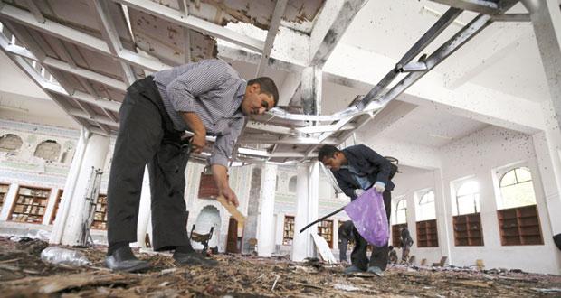 مئات القتلى والجرحى بتفجيرات في اليمن .. وداعش يتبنى الهجوم