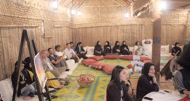 """بيت الزبير يقيم مشروعه الثقافي """"هبطة الأفكار"""" المستوحى من التراث العماني العريق"""